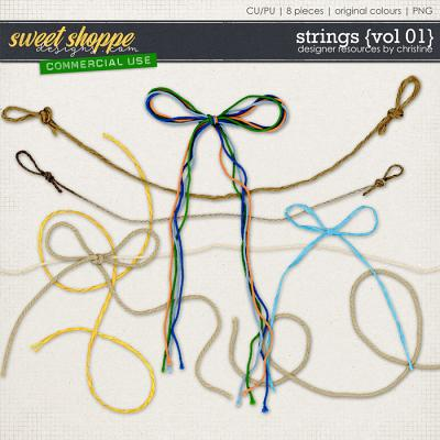 Strings {Vol 01} by Christine Mortimer