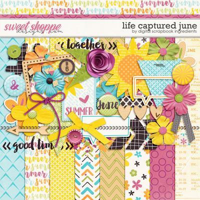 Life Captured June by Digital Scrapbook Ingredients