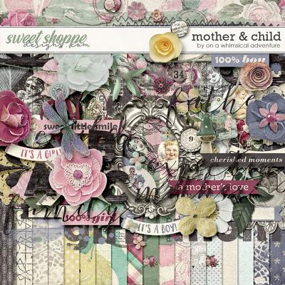 Mother And Child Kit by On A Whimsical Adventure
