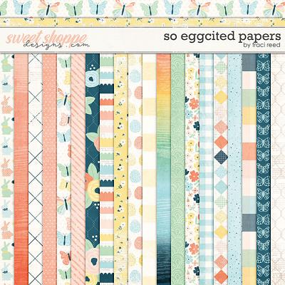 So Eggcited Papers by Traci Reed