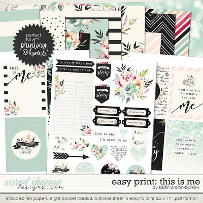 Easy Print: This is Me by Kristin Cronin-Barrow