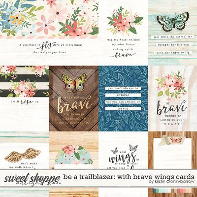 Be a Trailblazer: With Brave Wings Cards by Kristin Cronin-Barrow