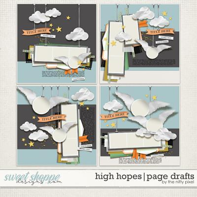 *FREE with your $10 Purchase* HIGH HOPES | PAGE DRAFTS by The Nifty Pixel