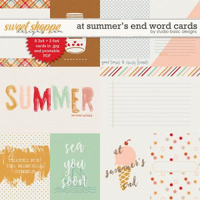 At Summer's End Cards by Studio Basic