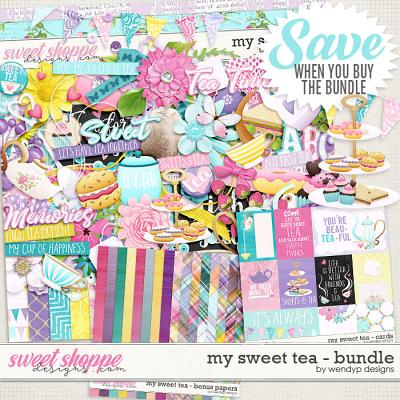 My sweet Tea - bundle by WendyP Designs