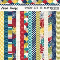 Pocket Life '15: May Papers by Traci Reed