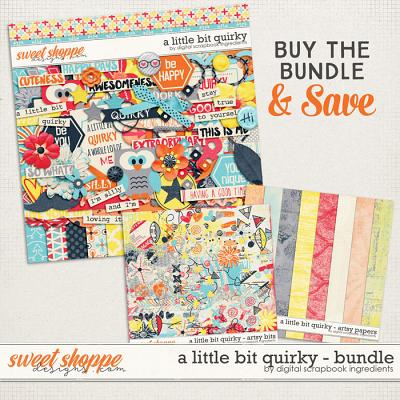A Little Bit Quirky Bundle by Digital Scrapbook Ingredients