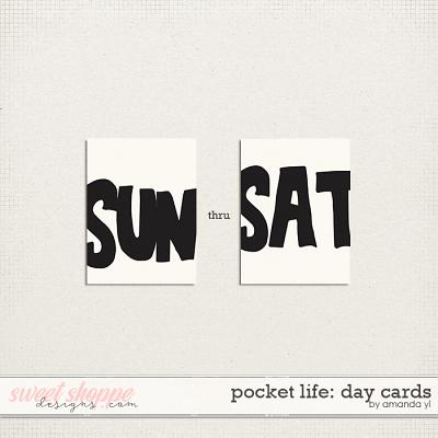 Pocket Life: Day Cards by Amanda Yi