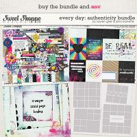 Everyday: Authenticity Bundle by Lauren Grier and Jenn Barrette