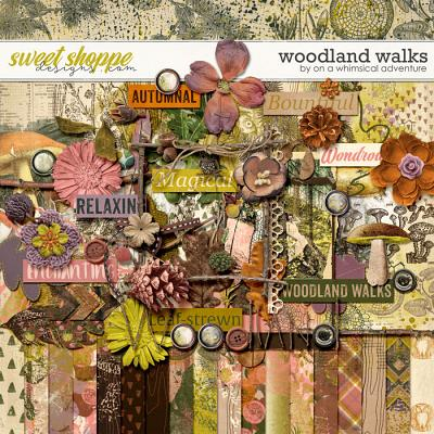 Woodland Walks Kit by On A Whimsical Adventure