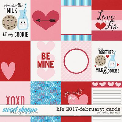 Life 2017-February Cards by Melissa Bennett