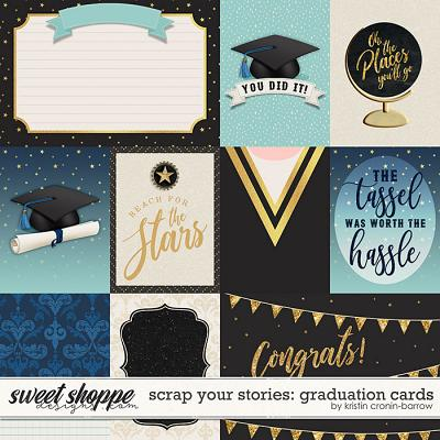 Scrap Your Stories: Graduation- CARDS by Studio Flergs & Kristin Cronin-Barrow