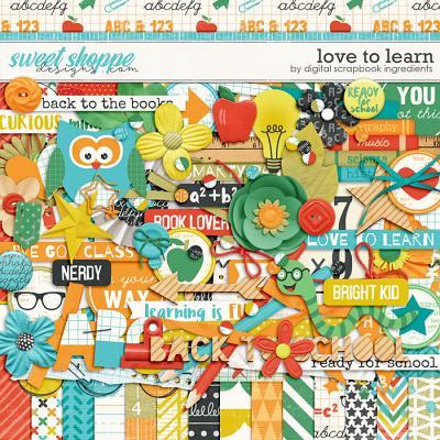 Love To Learn by Digital Scrapbook Ingredients