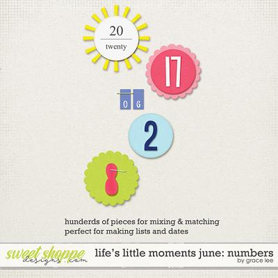 Life's Little Moments June: Numbers by Grace Lee