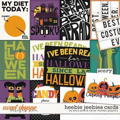 Heebie Jeebies: Cards by Erica Zane & Clever Monkey Graphics