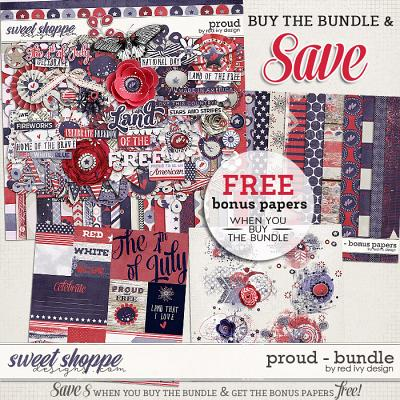 Proud - Bundle by Red Ivy Design