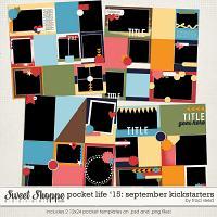 Pocket Life '15: September Kickstarters by Traci Reed