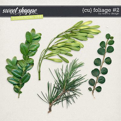 CU Foliage #2 by Red Ivy Design