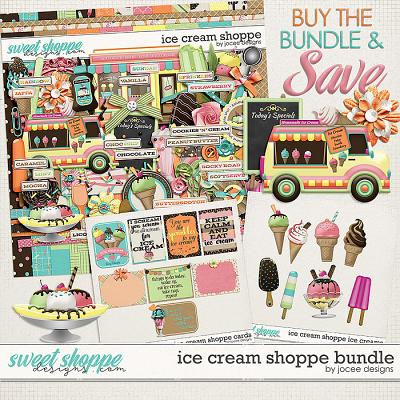 Ice Cream Shoppe Bundle by JoCee Designs