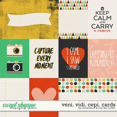 Veni.Vidi.Cepi Cards by Amanda Yi & Two Tiny Turtles