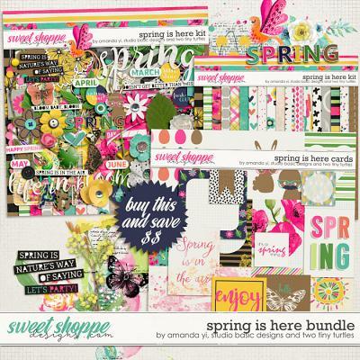 Spring Is Here Bundle by Amanda Yi, Studio Basic Designs & Two Tiny Turtles