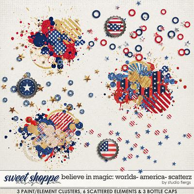 Believe in Magic: Worlds - America Scatterz by Studio Flergs