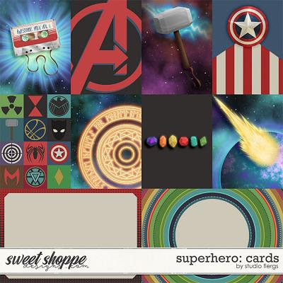 Superhero: CARDS by Studio Flergs