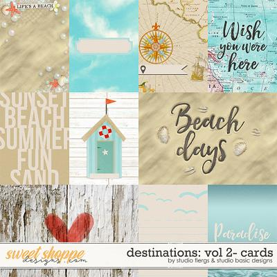 Destinations: Vol 2 - Cards by Studio Basic and Studio Flergs