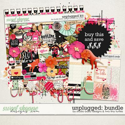 Unplugged: Bundle by Studio Basic Designs & Two Tiny Turtles