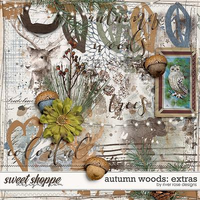 Autumn Woods: Extras by River Rose Designs