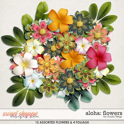 Aloha: FLOWERS by Studio Flergs