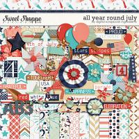 All Year Round July by Digital Scrapbook Ingredients