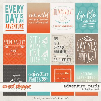 Adventure: Cards by Heather Roselli