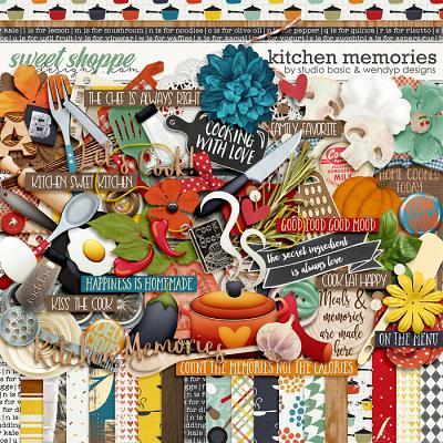 Kitchen Memories Kit by Studio Basic and WendyP Designs