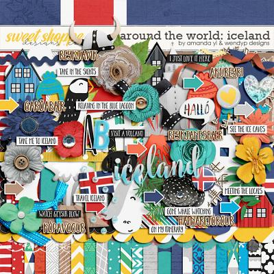 Around the world: Iceland - by Amanda Yi & WendyP Designs