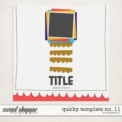 Quirky template no. 11 by Amanda Yi