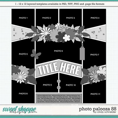Cindy's Layered Templates - Photo Palooza 88 by Cindy Schneider
