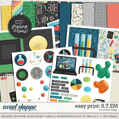 Easy Print: S.T.E.M by Studio Flergs