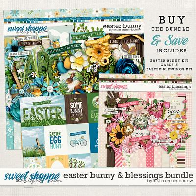Easter Bunny & Blessings Bundle by Kristin Cronin-Barrow
