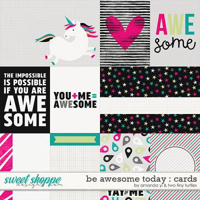 Be Awesome Today: Cards by Amanda Yi & Two Tiny Turtles