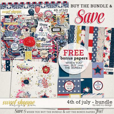 4th of July - Bundle by Red Ivy Design
