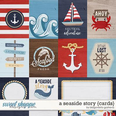 A Seaside Story {cards} by Blagovesta Gosheva