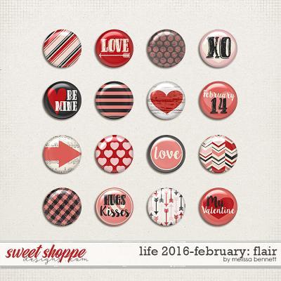 Life 2016-February Flair by Melissa Bennett