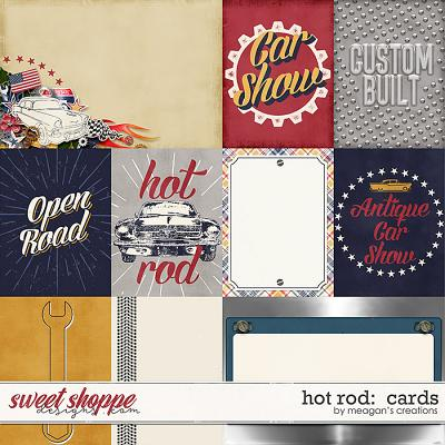 Hot Rod: Cards by Meagan's Creations