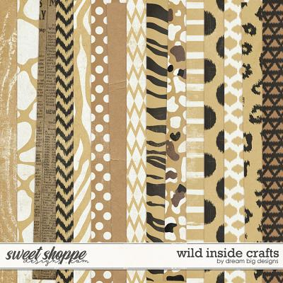 Wild Inside Crafts by Dream Big Designs