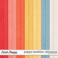 Poppy Sunshine: Shimmers by Amber Shaw