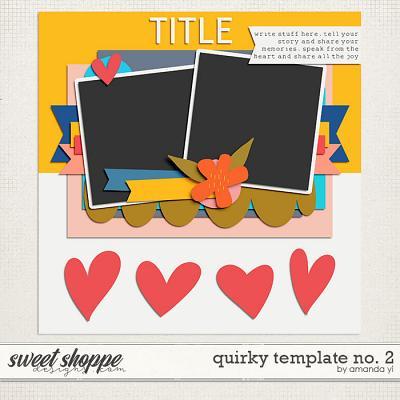 Quirky template no. 2 by Amanda Yi