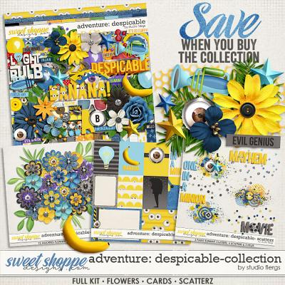 Adventure: Despicable- COLLECTION & *FWP* by Studio Flergs