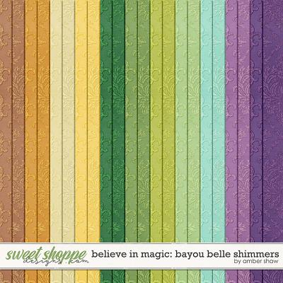 Believe In Magic Bayou Belle: Shimmers by Amber Shaw