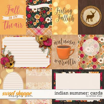 Indian Summer: Cards by Amber Shaw